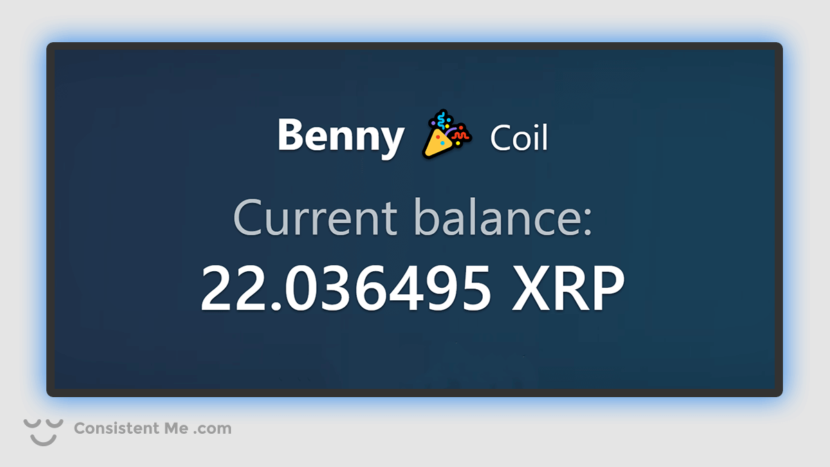 Coil XRP Balance July 2020